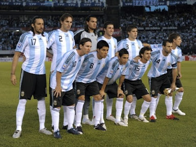 Argentina Football Team World Cup 2010 Photo