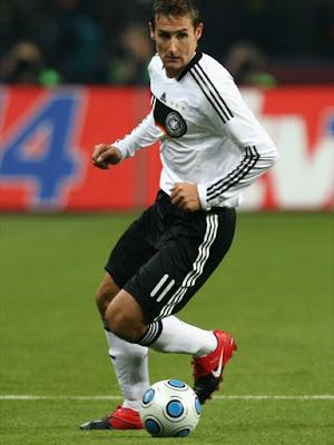 Miroslav Klose World Cup 2010 Poster