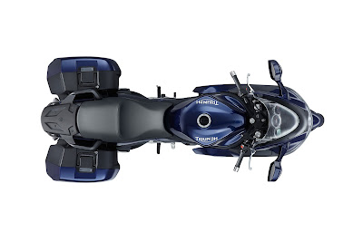 2011 Triumph Sprint GT Top View