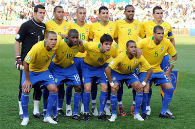 Brazil World Cup 2010 Football Team Picture