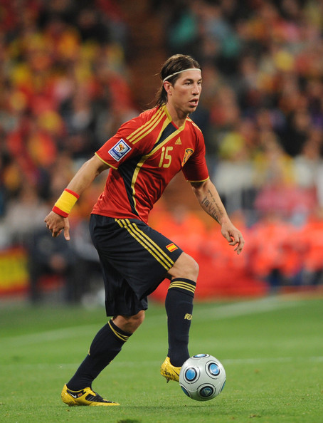 Sergio Ramos World Cup 2010 Football Picture