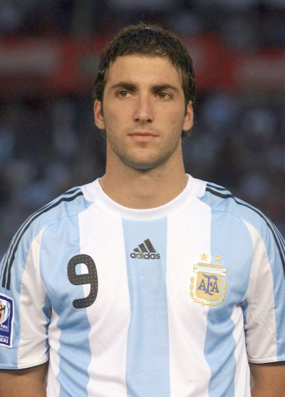 Football Wallpapers on Football Wallpaper And News  Gonzalo Higuain World Cup 2010 Wallpaper
