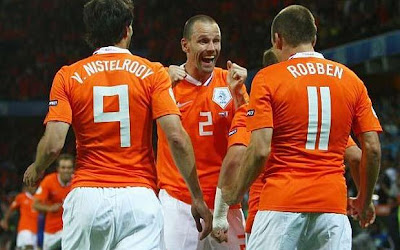 Netherlands Football Players World Cup 2010 Photo