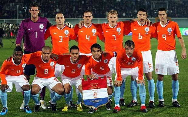 Netherlands World Cup 2010 Football Team