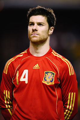 Xabi Alonso World Cup 2010 Photos