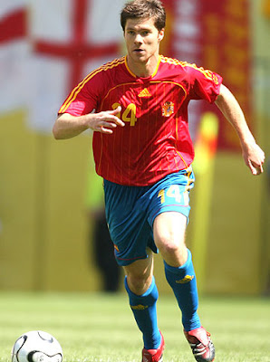Xabi Alonso World Cup 2010 Spain Soccer Players