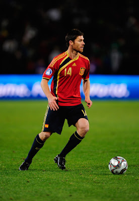 Xabi Alonso World Cup 2010 Football Picture