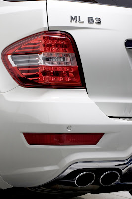 2011 Mercedes-Benz ML 63 Rear Light Car