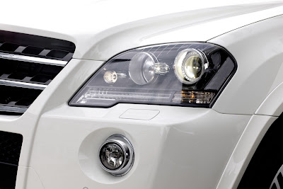 2011 Mercedes-Benz ML 63 AMG Front Light Car