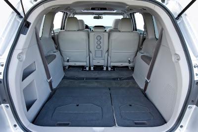 2011 Honda Odyssey Cargo Area Place
