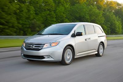 2011 Honda Odyssey Test Drive