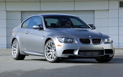 2011 BMW M3 Frozen Gray Coupe Sport Sedan Car