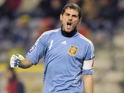 Iker Casillas World Cup 2010 Football Wallpaper