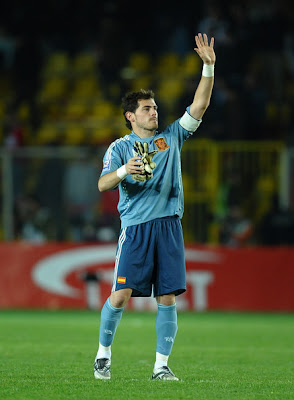 Iker Casillas World Cup 2010 Football Poster