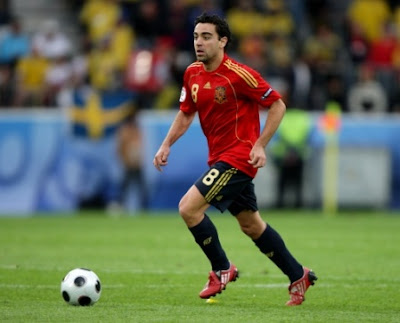 Xavi Hernandez World Cup 2010 Football Images