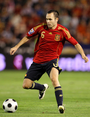Andres Iniesta Wallpaper on Player Fotball  Andres Iniesta World Cup 2010 Football Wallpapers