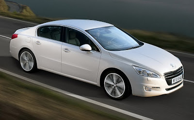 2011 Peugeot 508 First Image