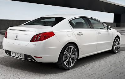 2011 Peugeot 508 Unveiled