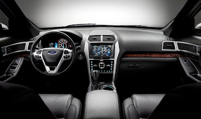 2011 Ford Explorer Car Interior