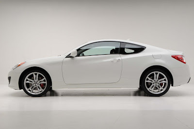 2011 Hyundai Genesis Coupe 3.8 R Car Side View