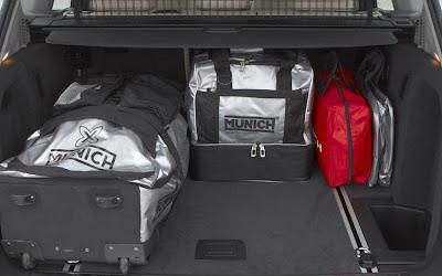 2011 BMW X3 Cargo Room