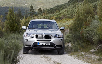 2011 BMW X3 Front View