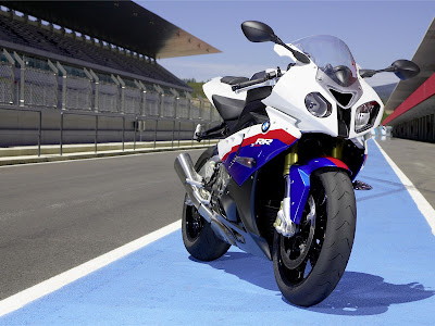 2011 BMW S1000RR Front View