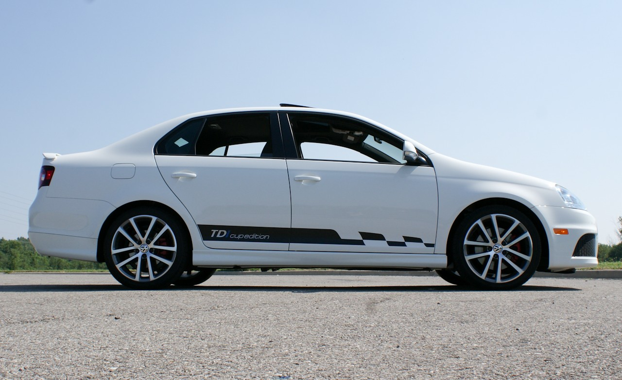 2010 Volkswagen Jetta TDI Cup Edition Side View