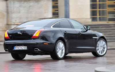 2011 Jaguar XJ Rear View