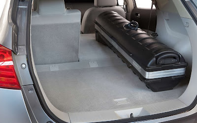 2011 Nissan Rogue Cargo Area Place