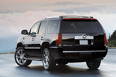 2011 Cadillac Escalade Rear View