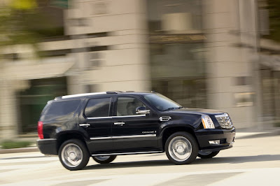 2011 Cadillac Escalade Side View