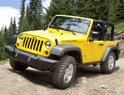 2011 Jeep Wrangler Official Pictures