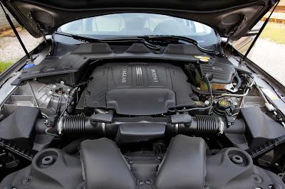 2011 Jaguar XJL Car Engine