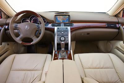 2010 Acura RL Interior