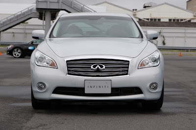 2011 Infiniti M35h Front View