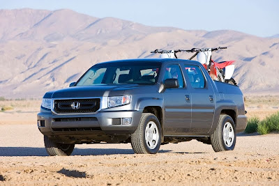 2011 Honda Ridgeline Official Pictures