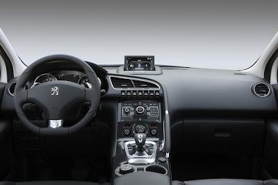 2012 Peugeot 3008 HYbrid4 Car Interior