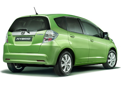 2011 Honda Jazz Hybrid Rear View