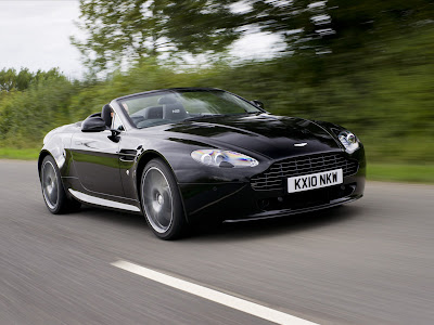 Aston Martin V8 Vantage N420 Roadster First Look