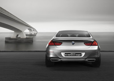 BMW Concept 6 Series Coupe Rear View