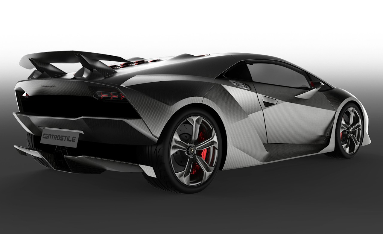 Auto Car Zone: Lamborghini Sesto Elemento Concept First Look