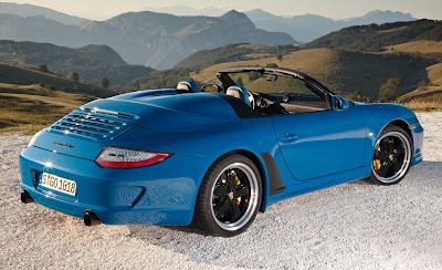 2011 Porsche 911 Speedster Rear Side View