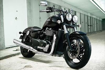 2011 Triumph Thunderbird Storm Front Angle View