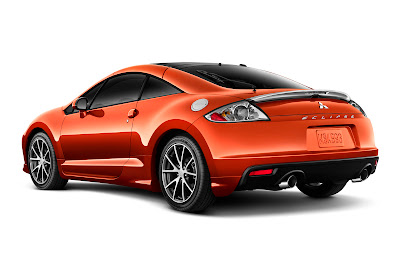 2011 Mitsubishi Eclipse GS Sport Rear Angle View