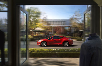 2011 Mitsubishi Eclipse GS Sport Side in Motion View