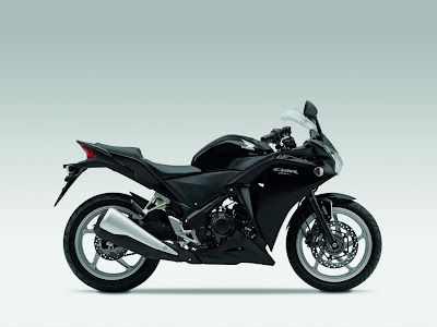 2011 Honda CBR250R Black Series