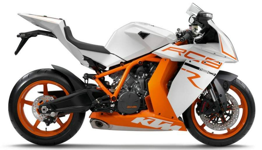 2011 KTM RC8R Motorcycles