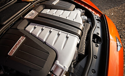 2012 Bentley Continental GT Engine