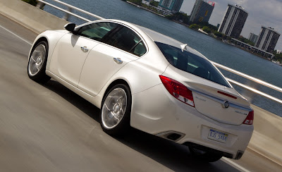 2012 Buick Regal GS Rear Side View